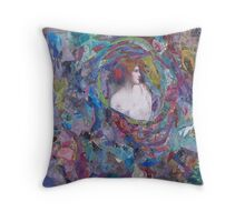 The Eye of Time Throw Pillow