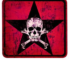 skull and bones red by kilcrazyrampage