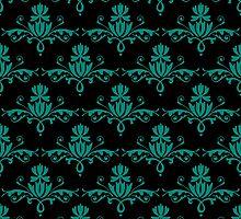 Fleurette~Emerald by Larry McFarland