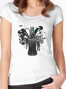 vintage coke Women's Fitted Scoop T-Shirt
