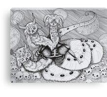 Space Hydra Canvas Print