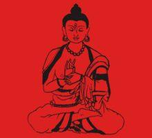 Big Buddha Design One Piece - Long Sleeve