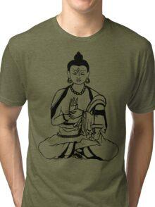 Big Buddha Design Tri-blend T-Shirt