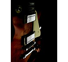 A Perspective in Les Paul Photographic Print