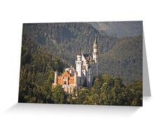 neuschwanstein Greeting Card