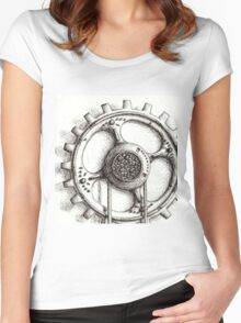 Lone Cog - #8. Women's Fitted Scoop T-Shirt