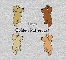 I Love Golden Retrievers! Pullover