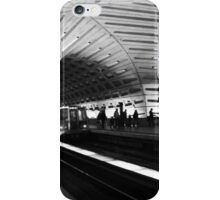 DC Metro with Train iPhone Case/Skin