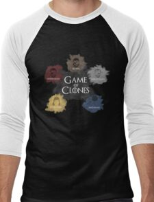 Game of Clones Metal Gear Men's Baseball ¾ T-Shirt