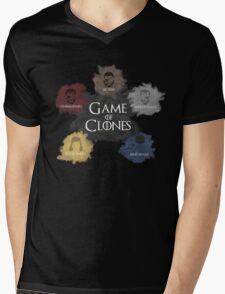 Game of Clones Metal Gear Mens V-Neck T-Shirt