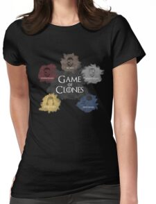 Game of Clones Metal Gear Womens Fitted T-Shirt
