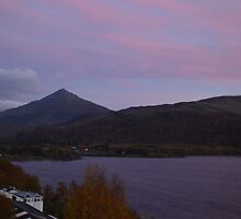 Schiehallion at Sunrise by Kirsty Auld