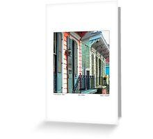 French Quarter Charm Greeting Card