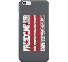DC Spelled Out iPhone Case/Skin