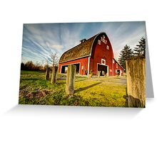 Tolt-MacDonald Barn Greeting Card