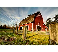 Tolt-MacDonald Barn Photographic Print