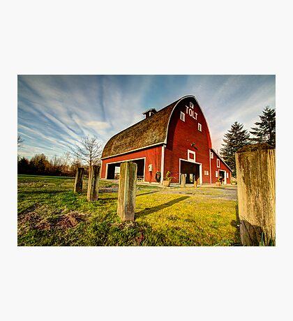 Tolt-MacDonald Barn Photographic Print