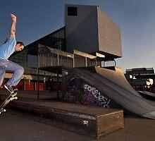 Skateboarder  by iamwiley