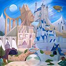 Castle Kiss by Wil Zender