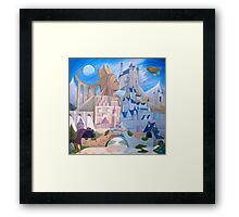 Castle Kiss Framed Print