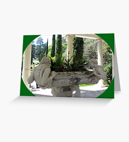Lovely sculptures  Greeting Card