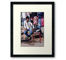 Indian Boy Framed Print