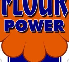 Flour Power Sticker
