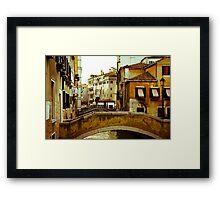 Venice Neighborhood Framed Print