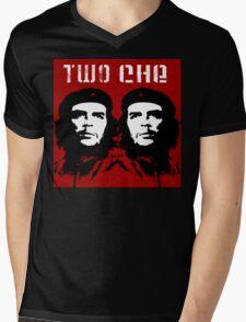 2 Che Mens V-Neck T-Shirt