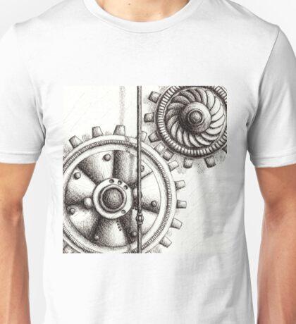 Twin Cogs - #10 Unisex T-Shirt