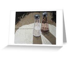 """Shakers in the spotlight"" Greeting Card"