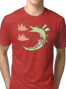 Dragon With A Flamethrower Tri-blend T-Shirt