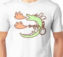 Dragon With A Flamethrower Unisex T-Shirt