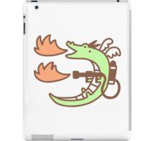 Dragon With A Flamethrower iPad Case/Skin