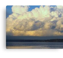 Cloud...Out To Sea... Canvas Print