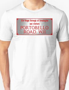 Portobello Road Sign Unisex T-Shirt