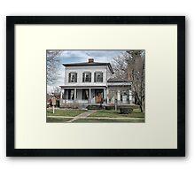 Upton House Framed Print