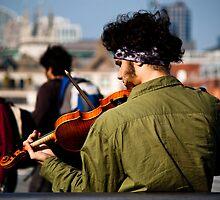 Violinist by talalb01
