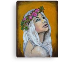 Spring Maiden Canvas Print
