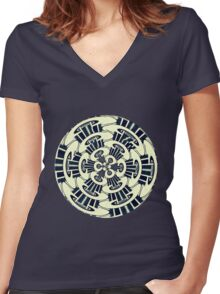 Blue Rondo Women's Fitted V-Neck T-Shirt
