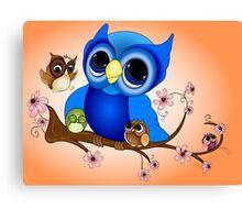 Mother Owl Canvas Print
