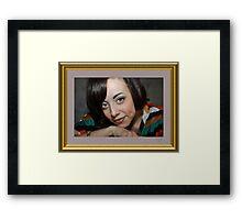 """ Beauty is...... "" Framed Print"