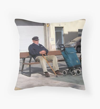 Heaven is a 10 minute nap. Throw Pillow