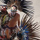 Colourful Feathered Headdress - Plumero De Colores by Bernhard Matejka
