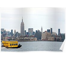 Water Taxi to New York Poster