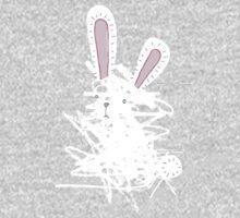 Scribble Bunny One Piece - Long Sleeve