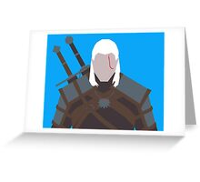 Geralt of Rivia - The Witcher Greeting Card