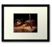 Gormet Grocer Moscato  Framed Print