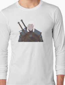 Geralt of Rivia - The Witcher Long Sleeve T-Shirt