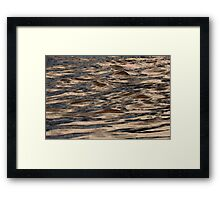 DNA's Ebb and Flow Framed Print